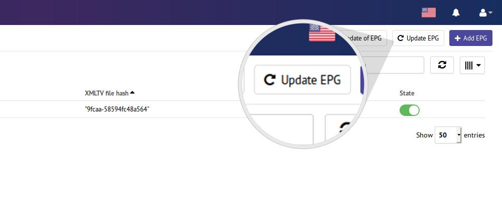 Comment ajouter et configurer l'EPG du canal, en utilisant le fichier xml?